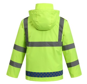 Anti-static Yarn Hi Vis Reflective Safety Coverall Workwear Uniform