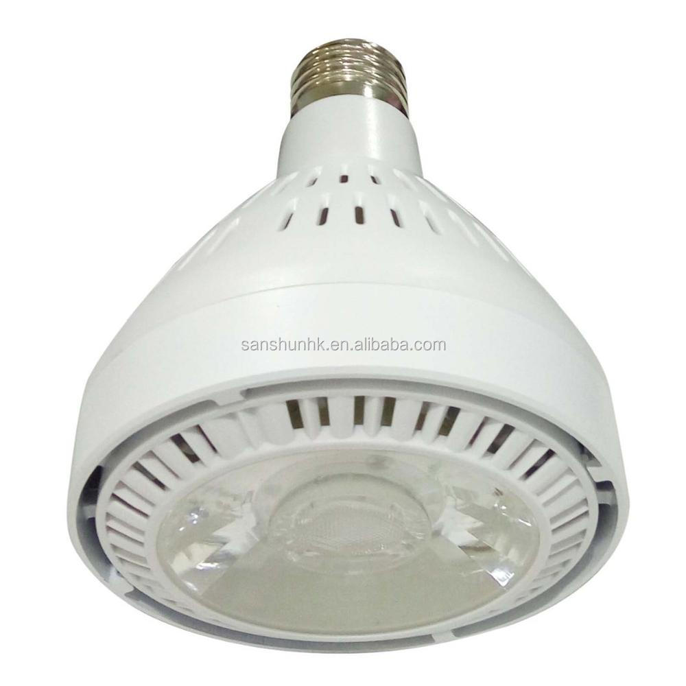 professinal factory black housing PAR30 LED <strong>spotlight</strong> 35W with COB chip
