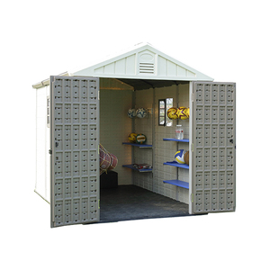 Kinplay brand sale kit homes usa shed 8x6 for garden storage shed plastic backyard