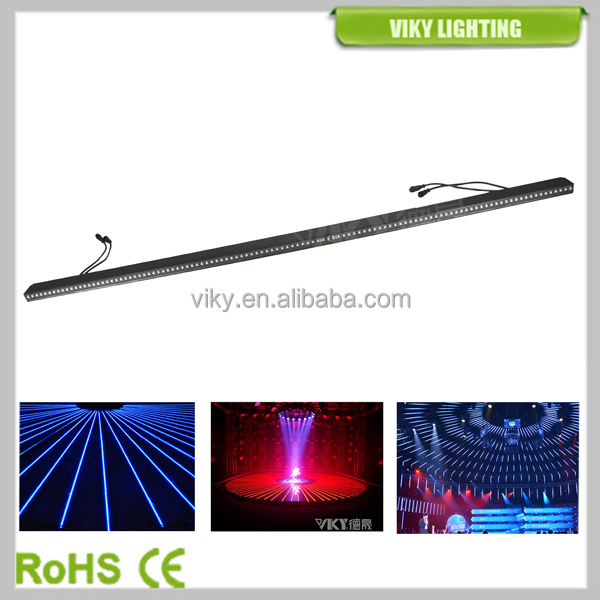 Dubai Project 13.39 Pixel Pitch Video Effect IP66 5050 SMD RGB LED Slim Bar