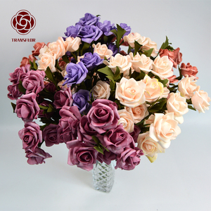 2019 New Style 7-Day Production Cycle Cheap Import China Fabric Artificial Flowers Artificial Decoration Flowers