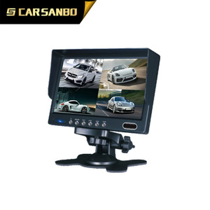 2016 New 7 inch ahd monitor bus/truck parking rearview system for combine