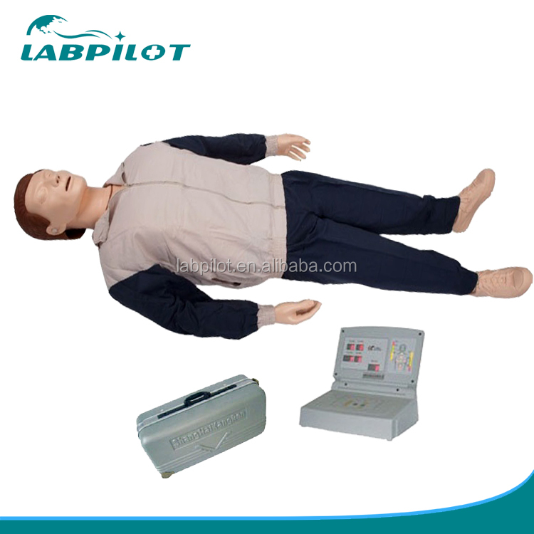 English Voice Prompt Automatic Control CPR Training Manikin for Field Training