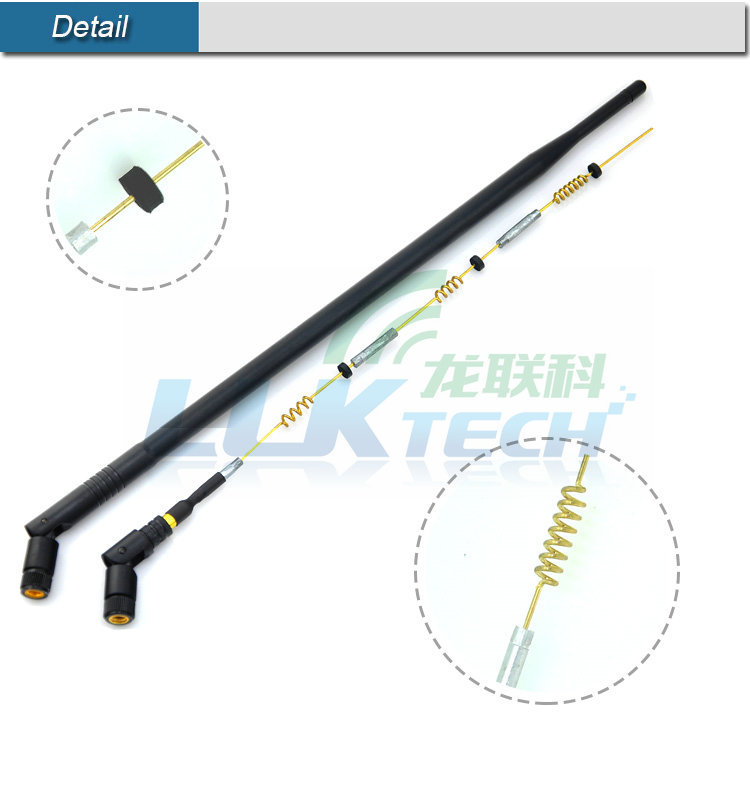 Long Range 2.4ghz Wif Wireless Antenna With Rp Sma Connector