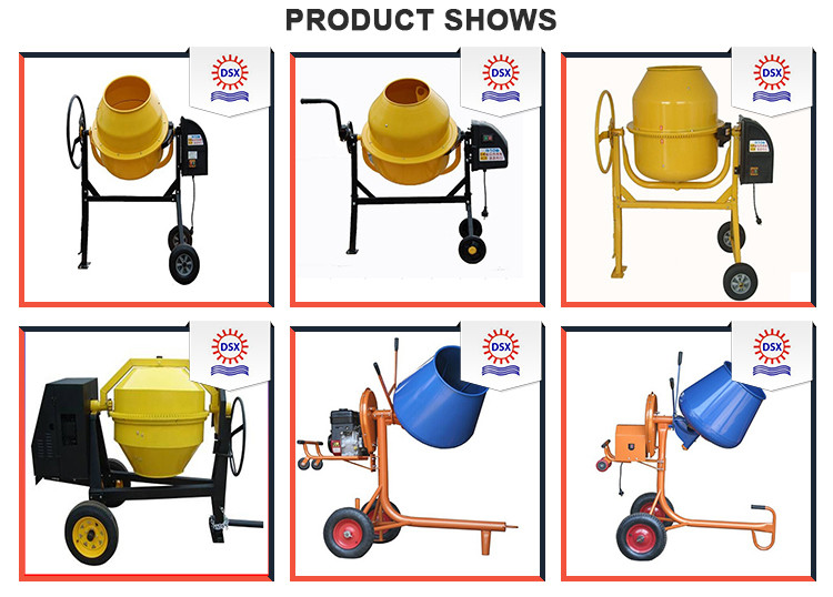 No Complaint Various Chinese Mini Cement Mixer Portable Mixer