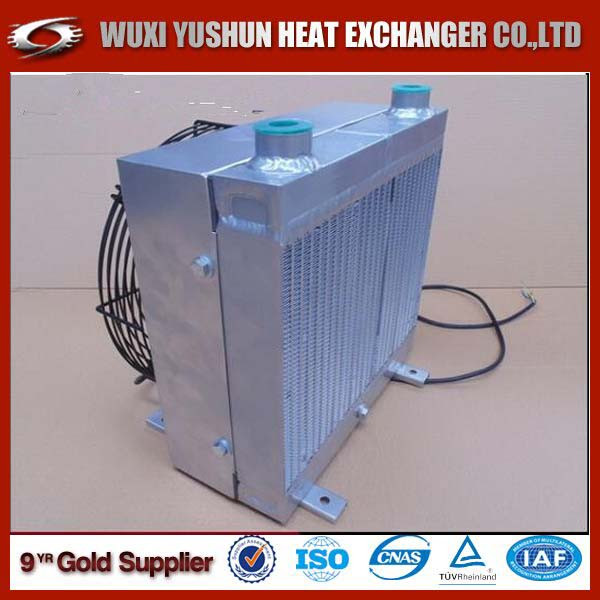 china supplier direct factory aluminum plate fin industrial hydraulic oil cooler