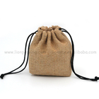 Hot sale good quality natural burlap hessian jute hemp bag for seeds packaging