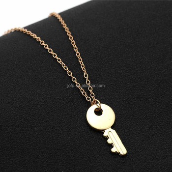 3ks 011 gold plated necklace jewelry gold key pendant necklace 3ks 011 gold plated necklace jewelry gold key pendant necklace meaning mozeypictures Choice Image