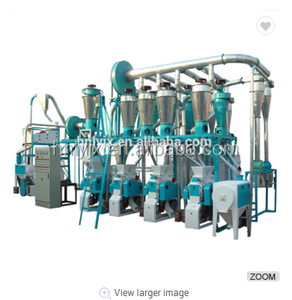 flour mill /wheat semolina making machine /automatic wheat flour production project