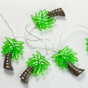 Trade Assurance Led Coconut Outdoor Fairy Mini Rope Christmas Palm Tree Light