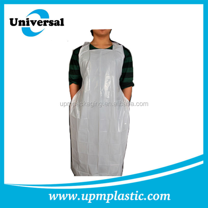One Time Use Disposable Degradable Plastic Ldpe Aprons