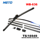 Hot sale car front window rain x windshield wiper