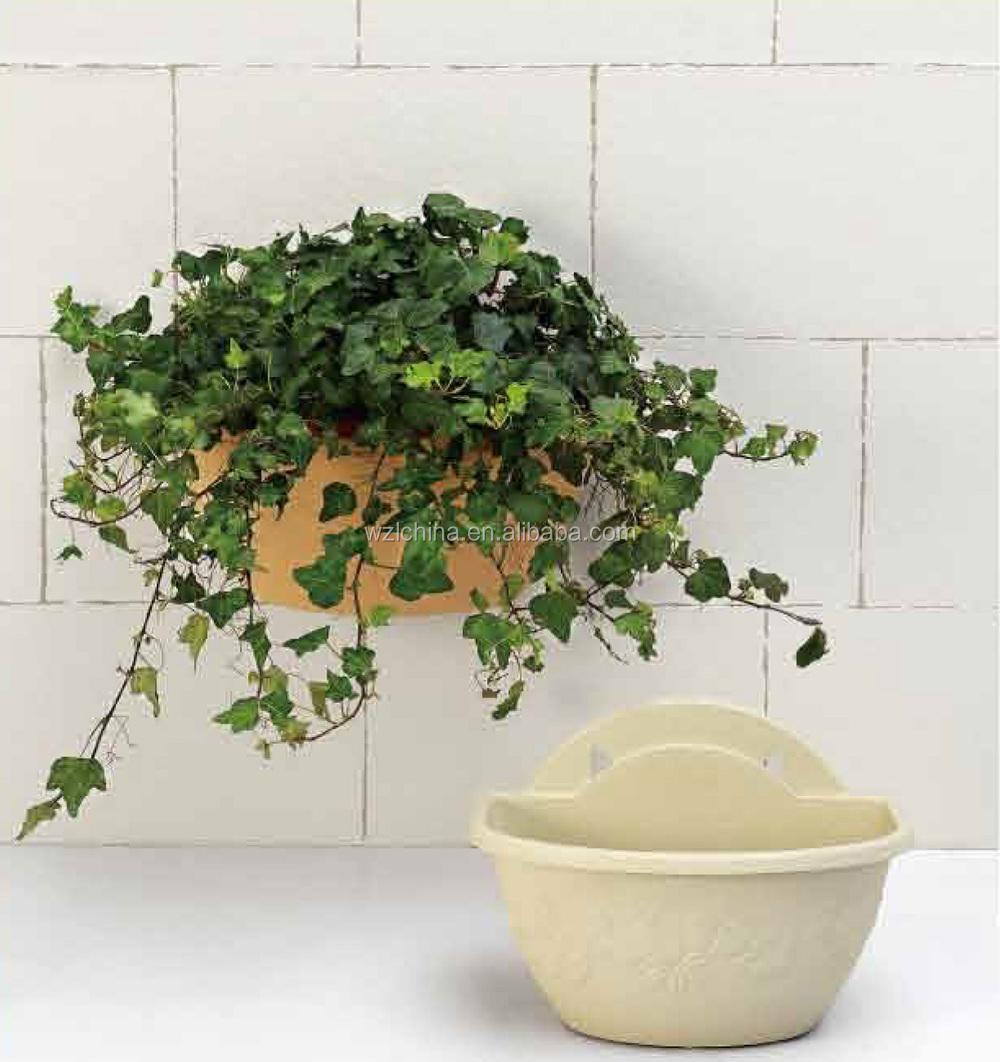 Maceteros para colgar decorar con plantas en estantes for Ideas para colgar plantas