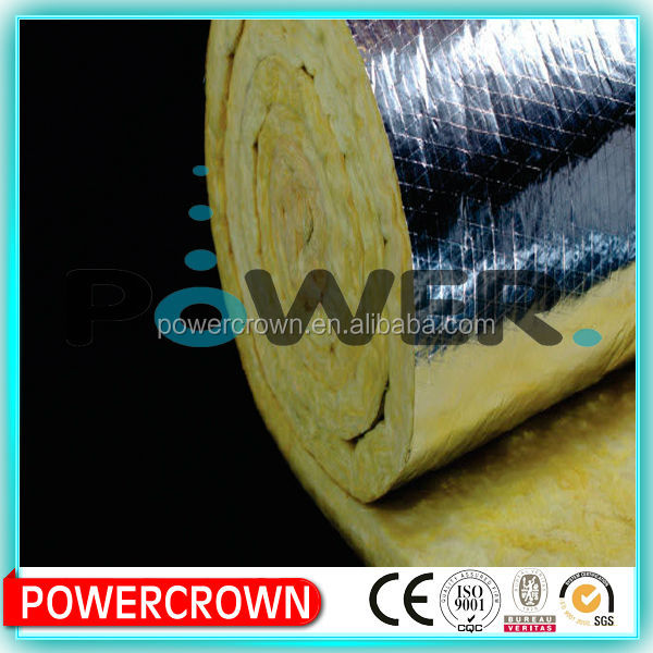 High quality sound absorbing fiber glass wool insulation felt