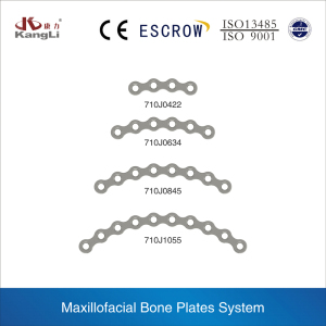 Mini Forehead Bone plates Of Trauma Maxillofacial Implants