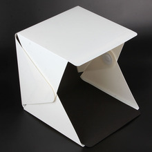 New Fashion Portable Mini Photo Studio Light Box Photography with Black & White Backdrop / Top Selling Folding LED Lightroom