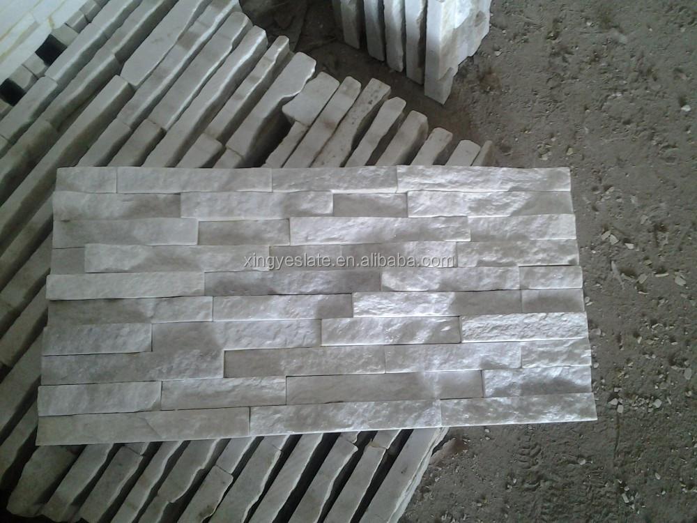Wanddecoratie leisteen outdoor tegels goedkope witte stenen muur leisteen product id 60153351125 - Leisteen muur ...