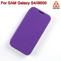 china supplier color OEM mobile phone for samsung galaxy s4 PU leather stand case