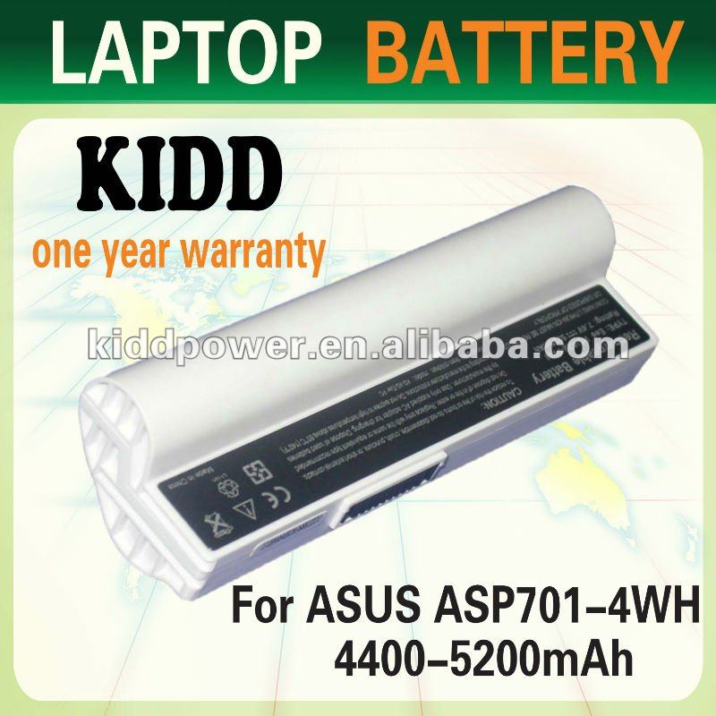 Laptop Battery For Asus Eee PC 2G Surf 4G Surf 701 8G 900 90-OA001B1000 A22-700 A22-P701 P22-900 KB8060