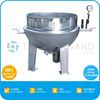 TT-JK-SV500 500L Dia. 1100mm Industrial Steam Jacket Kettle Cooking Pot