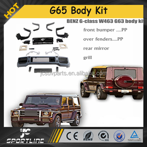 PP body kits fit for Mercedes G-class W463 G63 08