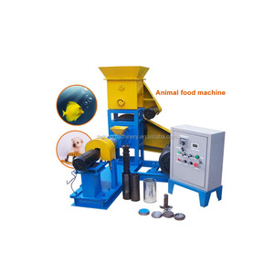 Automatic screw dry dog food pelletizer extruder for fish feed