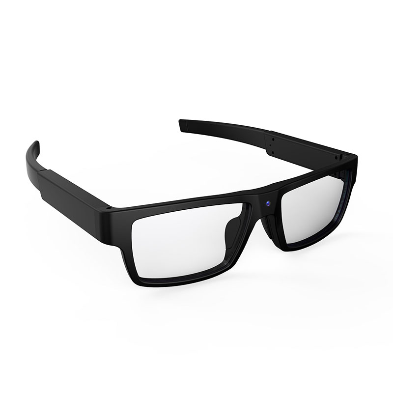 Factory price FHD 1080P 720P video recording smart glasses 120 degree view 8GB memory