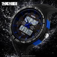 Fashion design alarm clock big dial aliexpress watch skmei watch review