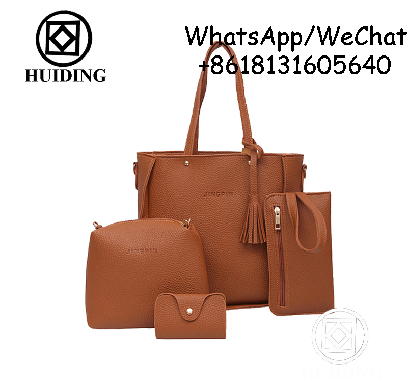 ladies bags Oversized Hanbag 4 in 1 Set Cheap Bags