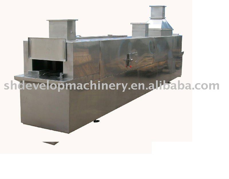 Tunnel sterilization and drying machine for vial, ampoule bottle