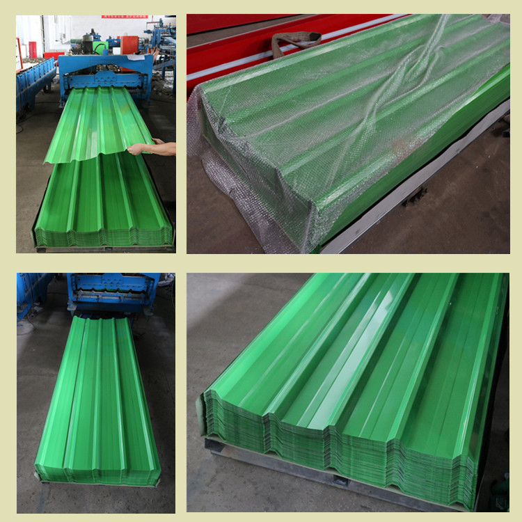 steel roofing  sheet Ppgi Metal Iron Tile/corrugated  plate galvanized low price  roof top zinc sheet RAL color coated roof deck