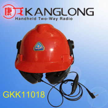 wireless walkie talkie helmet headset GKK11018