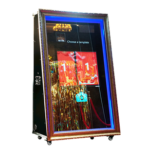 65/ photo booth shell touch screen kiosk machine the mirror selfie photo booth