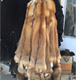 Factory price Chinese natural color red fox fur skin