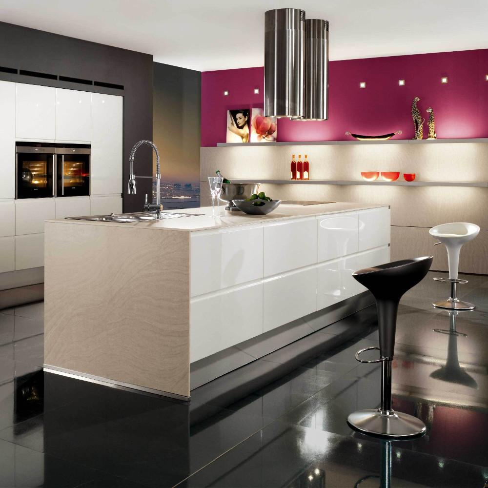 Moderna De Gama Alta Diseño Personalizado Moderno Gabinete De Cocina ...