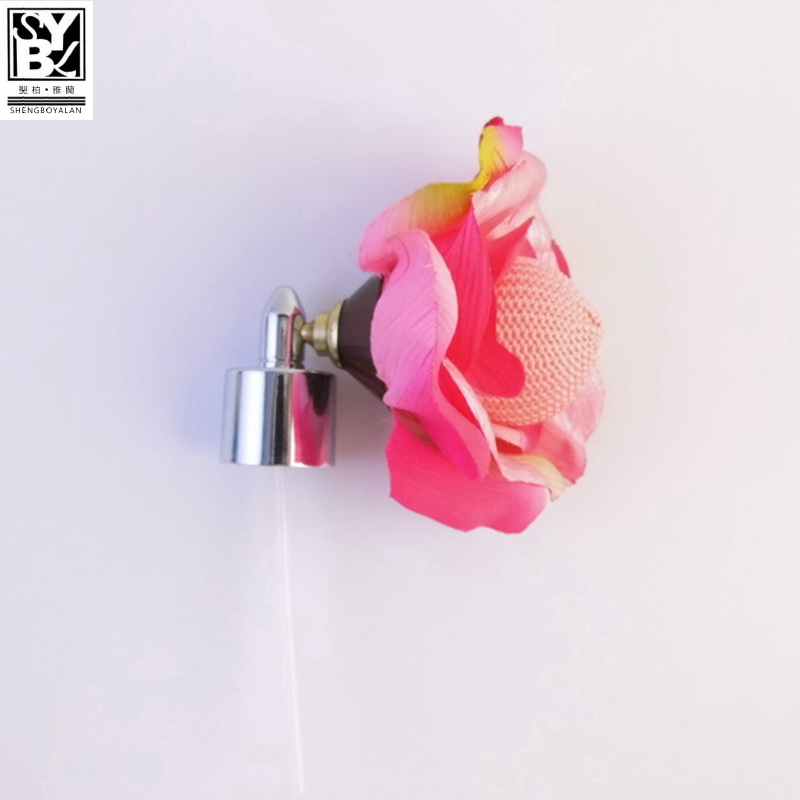 18mm perfume atomizer new style perfume pump sprayer with flower