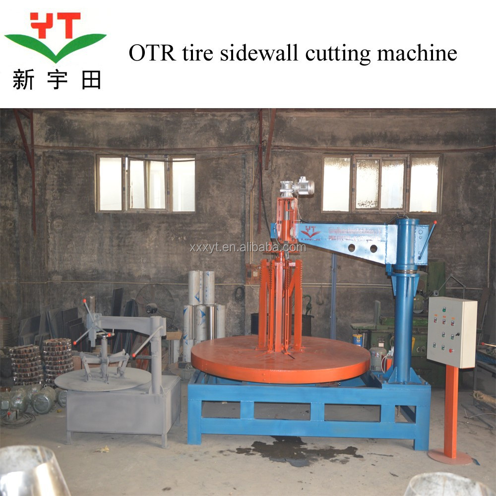 OTR tire ring cutting machine from henen manufacturer/OTR tire debeader
