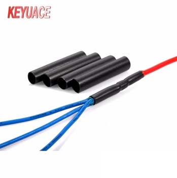 te es2000 standard thick adhesive heat shrink tubing for automobile wire  harness
