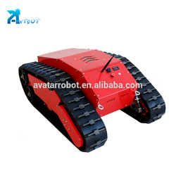 Lab used homemade rubber tracks rc tank caterpillar treads from China