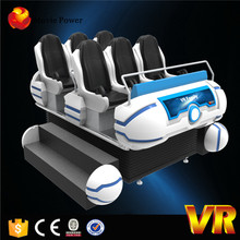 Electric System 9d Vr With 6 Seats, Dynamic Motion Chairs 9d Vr Family