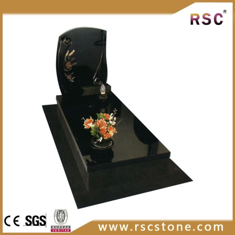Black Marble Headstone Marble Grave Headstones Buy Black