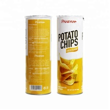 Cheese flavoured snack food packaging potato chips from china
