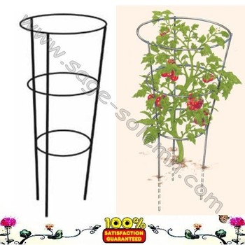 Cone Shaped Wire Cage For Tomato Plants And Other Vine - Buy Plant ...