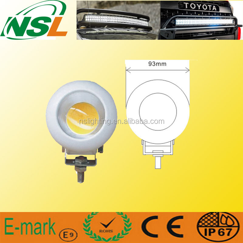 IP67 waterproof 25w led work lights round C REE led light car work lamp for tractors and vehicles