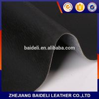leather&suede knitte pvc leather bonded leather
