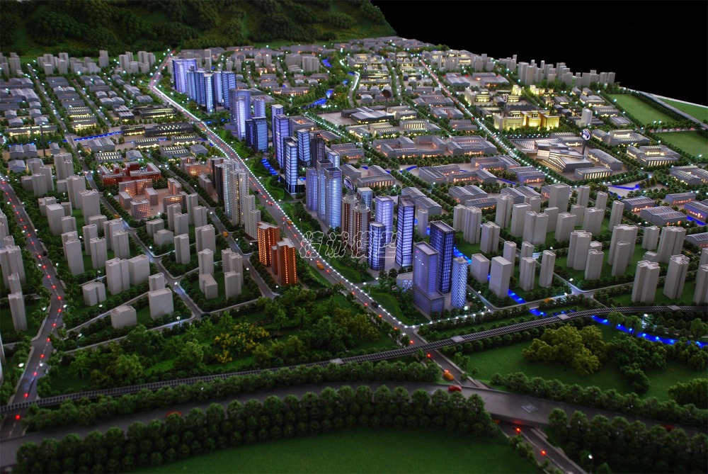 Modern City Planning model for Asia/Europe/Africa/ South America