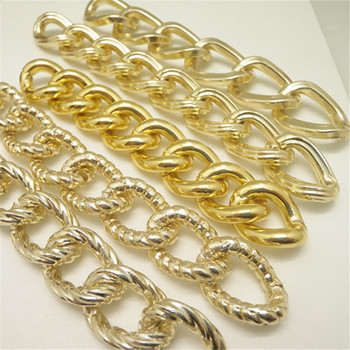 fake gold aluminum chain for man big necklace View fake gold