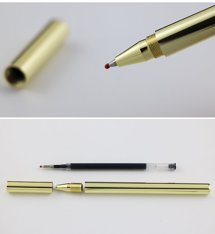 Online 2-Farb Kugelschreiber Touchpen 3in1 Metallic Stylus 6 Farben