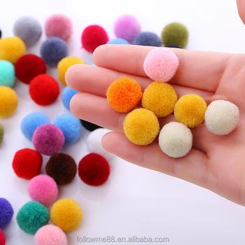 100 Handgemachte Wolle Filz Kugeln Fur Diy Bunte Blumen Fur