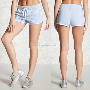 2e655d701f Femme Basique Sport De Course Athlétique Short femme Taille Élastique Actif  Shorts ...